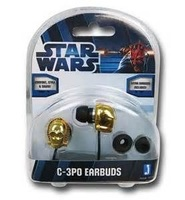 Jazwares C3PO Earbuds