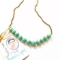 Lot 2545 Simplicity Fair Trade Paper Bead Necklace