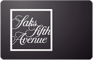 Saks Fifth Avenue $25 Gift card