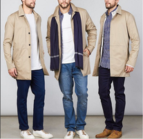 Five Four Club Chester Coat Mens