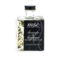 MSC Skin Care + Home Lavender and Bergamot Body Nectar