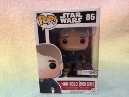 Star Wars Han Solo (Snow Gear) Pop Bobble Head