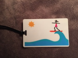 Luggage Tag by R. Nichols
