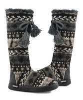 MUK LUKS – Chunky Tall Slipper Boots