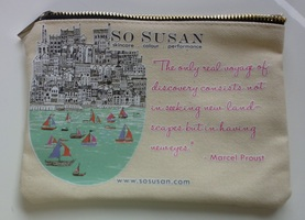 So Susan cosmetic bag