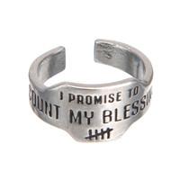 Whitney Howard Promise Ring