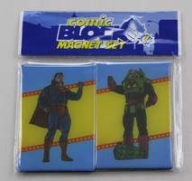 Exclusive Comic Block magnets - Superman / Lex Luthor