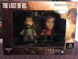 Titans Vinyl Figures - The Last of Us (Joel & Ellie)