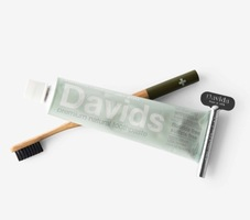 Charcoal Bamboo Toothbrush and Toothpast