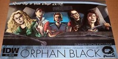 "Orphan Black ""Road Trip to San Diego"" Exclusive Comic"
