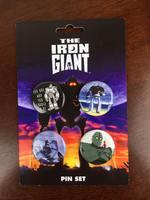 Iron Giant pin set