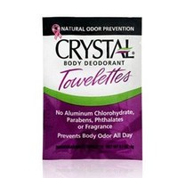 Crystal Body Deodorant Towelettes