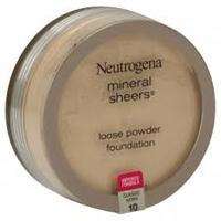 """Neutrogena Minerals Sheers loose powder foundation in """"classic ivory 10"""""""