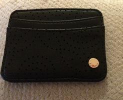 Deux Lux Black Card Holder