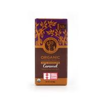 Equal Exchange Chocolates Dark Chocolate Caramel Crunch With Sea Salt