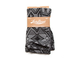 Lucky Brand Black Aztec Seamless Leggings Size S/M