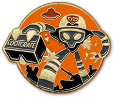 Loot Crate Loot Pins - January Invasion