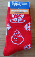 Enemy Critters Socks Sox Super Geek Exclusive