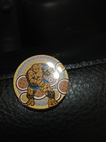 Fantastic Four The Thing button