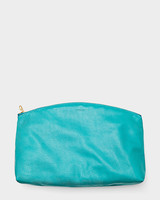 Baggu Large Clutch in Turquoise