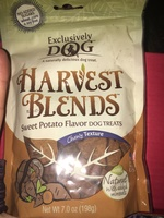 Exclusively Dog Harvest Blends Sweet Potato Flavor Dog Treats