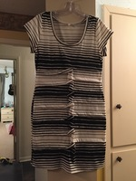 Mystree Knot Front Dress Large