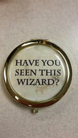 Harry Potter inspired compact - Have You Seen This Wizard?