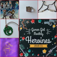 Entire January Gamer Girl Monthly Box