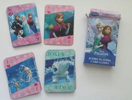Frozen Jumbo Playing Card Games
