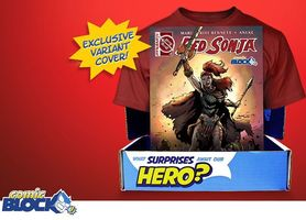 Red Sonja #1 Comic Block Variant