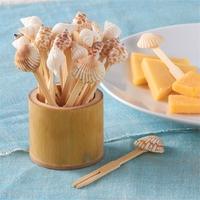 Two's Company Shell Toothpicks