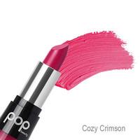 Pop Beauty - Matte Velvet Lipstick - Cozy Crimson