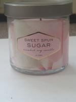 Sweet Spun Sugar Soy Candle