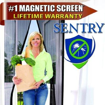 """Sentry Magnetic Screen Door 48 x 83"""""""