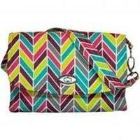 Lilly Bit - uptown diaper clutch