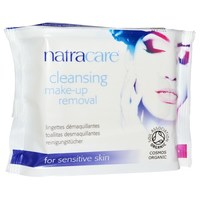 Natracare Cleansing make up remover cloths