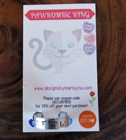 Silver Pawromise Ring