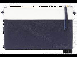 1951 Maison Francaise Clutch - XL Navy/White