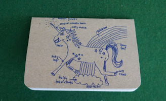 Girls Can Tell Unicorn Notebook