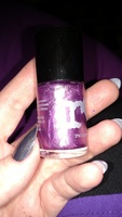 Rainbow Honey Nail Polish in Violetta Bot