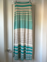 Promesa Striped Maxi Skirt
