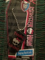 Monster High dogtag necklace