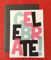 CELEBRATE! card & envelope