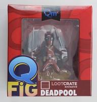 Loot Crate exclusive Deadpool Q figure