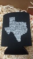 Stateline Designs Texas Koozie