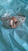 Alice in Wonderland Cuff Bracelet