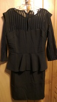 Esley black dress, nwot, size small