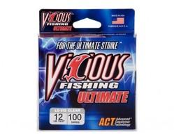 Vicious Fishing Ultimate 12lb Fishing Line - 100yds