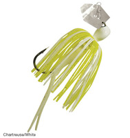 Chatterbait Micro Series - Chartreuse/White