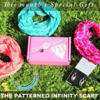 Cate & Chloe Quarterfoil infinity scarf